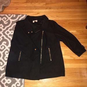 Michael Kors black wool winter coat